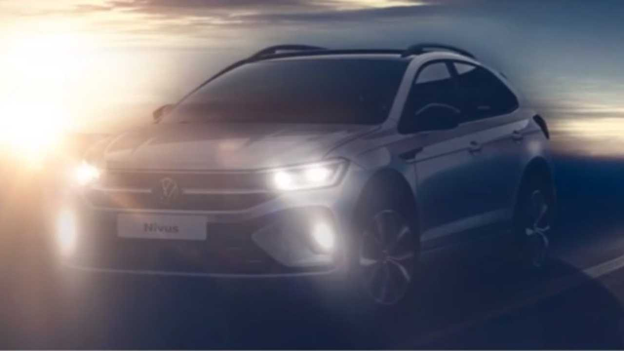 primera imagen y detalles del volkswagen nivus 2021  el nuevo crossover compacto