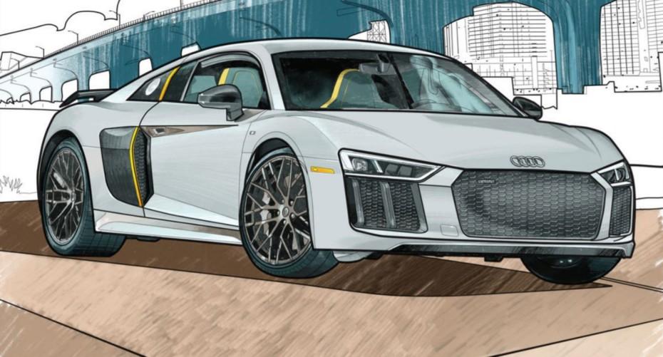 ¿Aburrido?: Audi lanza su libro de dibujo de forma gratuita