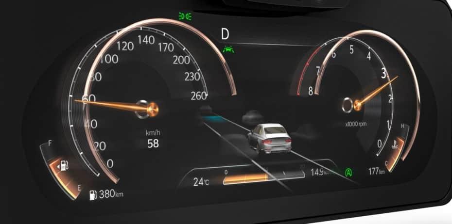 Así es el cuadro de instrumentos 3D que debuta en Genesis: ¿Sigues prefiriendo en el de Audi?
