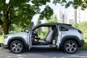 Dossier, los eléctricos más vendidos en España durante agosto: Llegan los Mazda MX-30