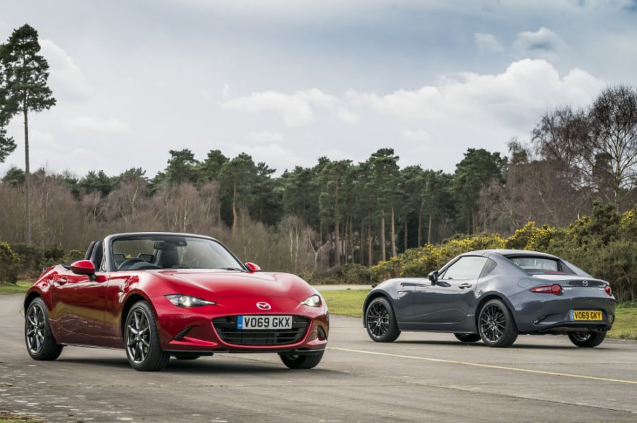 Ya disponible la gama 2020 del Mazda MX-5