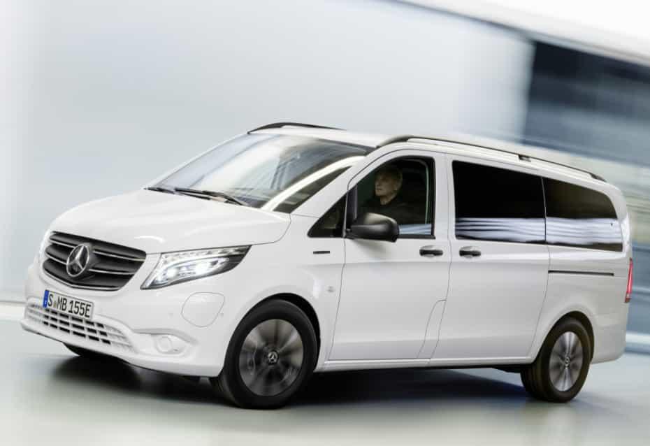 El Mercedes eVito también se pone al día: Estrena una enorme batería con 90 kWh útiles