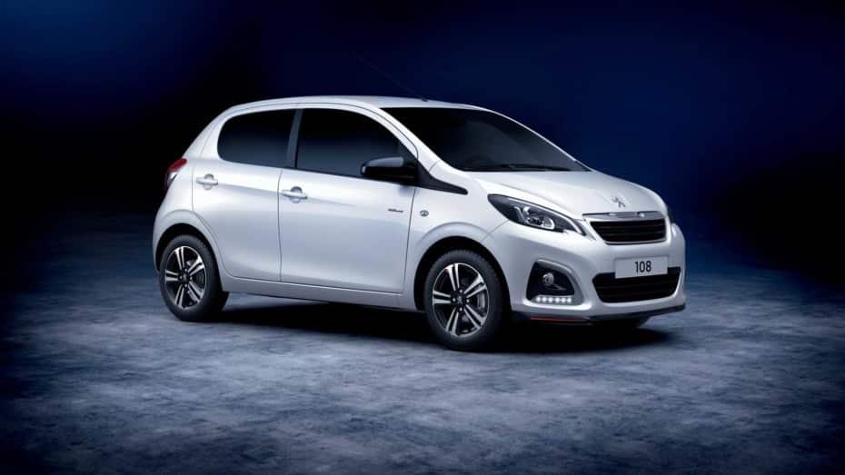 Ligera actualización para el Peugeot 108