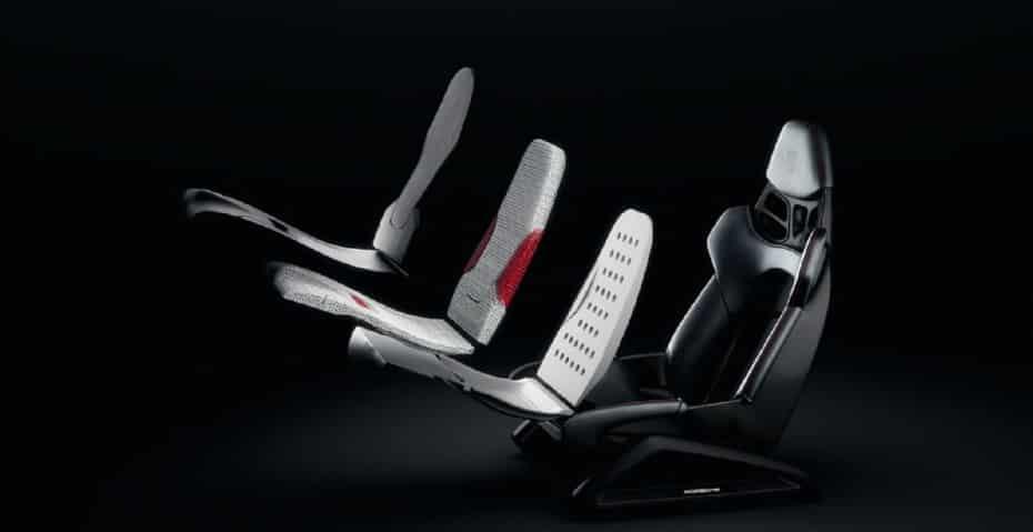 Porsche ofrecerá asientos baquet impresos en 3D con la forma del cuerpo