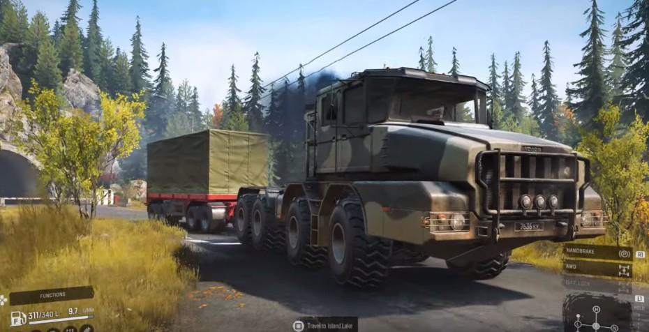 Los mods llegan a SnowRunner y aumentan las posibilidades de este interesante videojuego