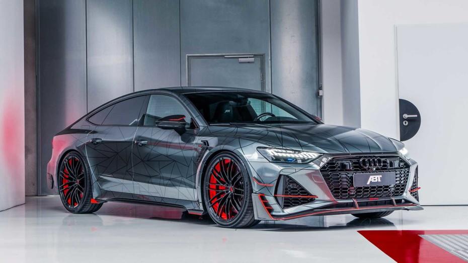 El Audi RS7-R de ABT suma 140 CV al V8 biturbo para hacer todavía más radical el sportback