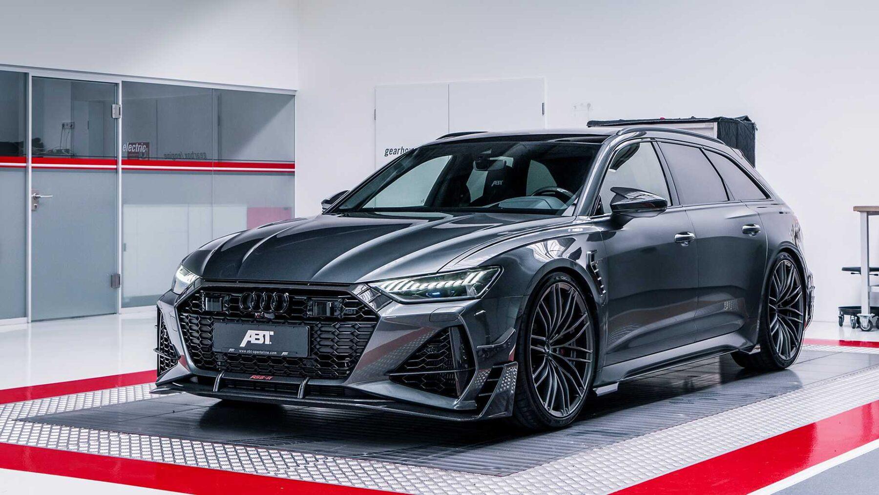 Asi Es El Esperado Audi Rs6 R De Abt 140 Cv Extra Para Crear Un Familiar Radical Y Unico