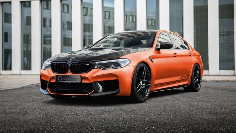 Se llama G5M Hurricane RS pero podrían apodarlo como el BMW M5 «zampa superdeportivos»