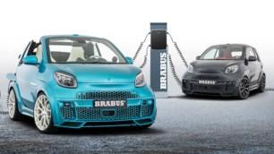 BRABUS actualiza su polémico smart fortwo Ultimate E: El urbano biplaza de 50.000 euros