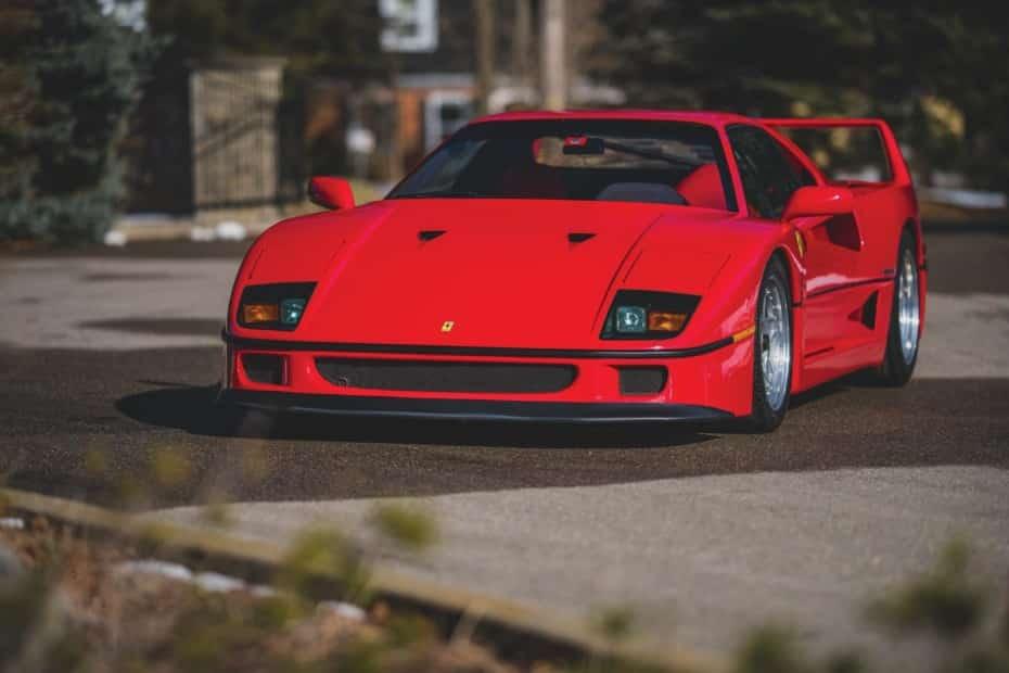 Este Ferrari F40 busca garaje y ojo, que es muy exclusivo