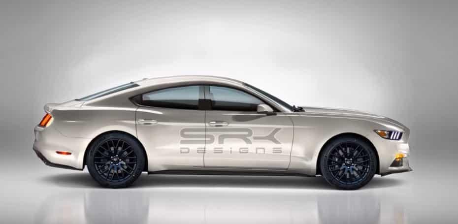 ¿Cómo ves este Ford Mustang de cuatro puertas?