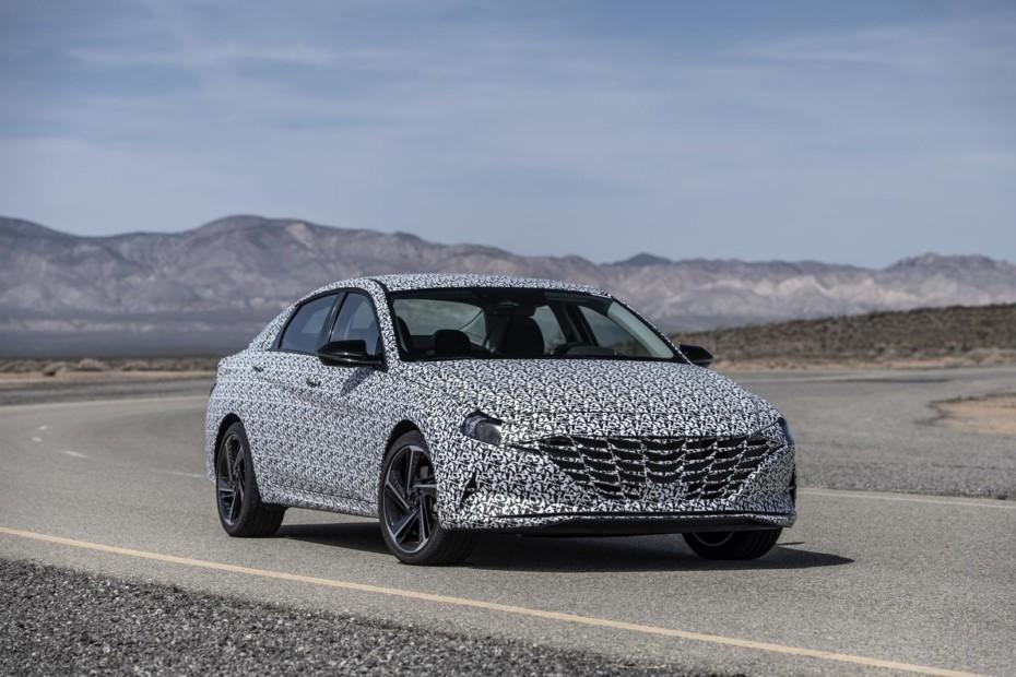 Hyundai Elantra N Line: Primeros detalles de la versión más deportiva (por el momento)