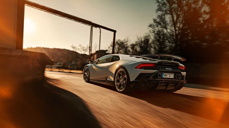 Dieta rica en fibra de carbono para el Lamborghini Huracán EVO 2020