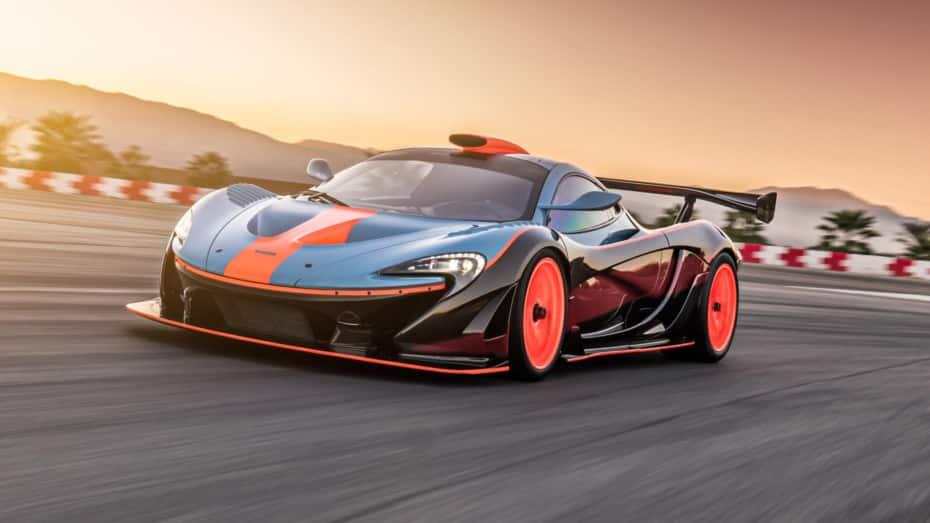 McLaren P1 GTR-18: Solo 6 ejemplares aun más exclusivos y legales en carretera