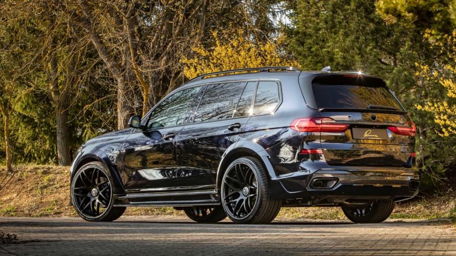 Si buscas un BMW X7 recién sacado de 'Need For Speed' y con casi 700 CV…