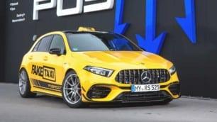 525 CV, 600 Nm de par y muchas 'chucherías' para el Mercedes-AMG A45 RS 525