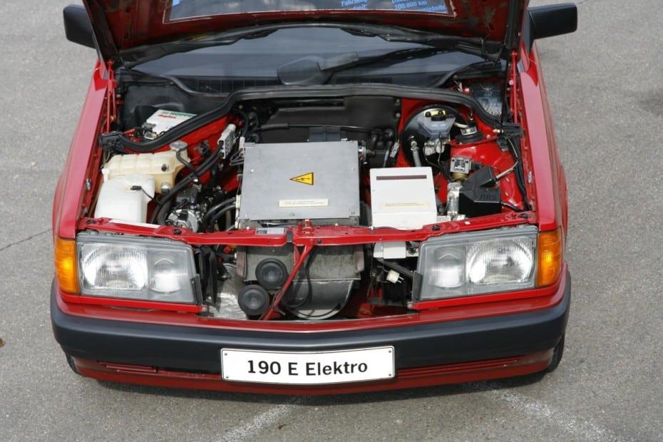 ¿Conocías de la existencia del Mercedes-Benz 190 (W 201) eléctrico de 1990?