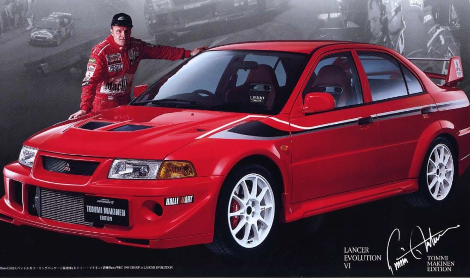 Mitsubishi Lancer Evolution VI Tommi Makinen Edition: Rey de reyes