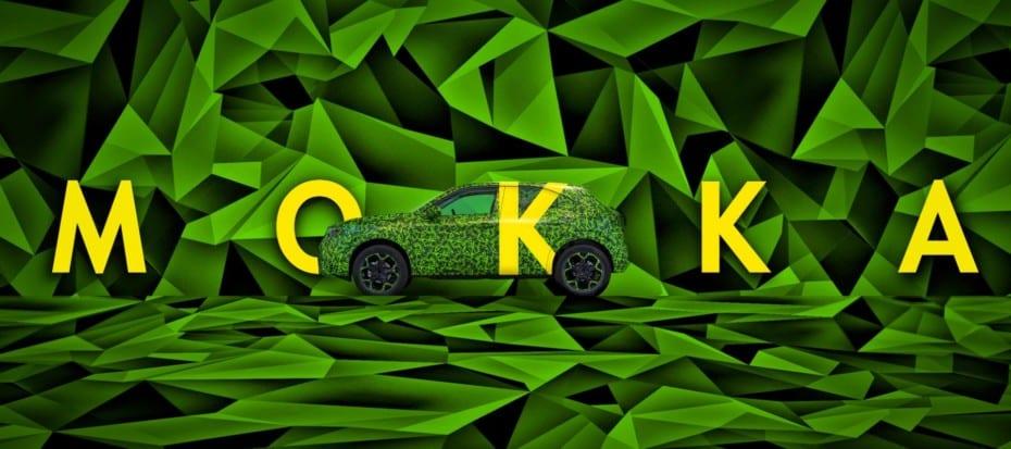 Opel nos revela el primer teaser del nuevo Mokka: Pierde la «X» y tendrá versión eléctrica