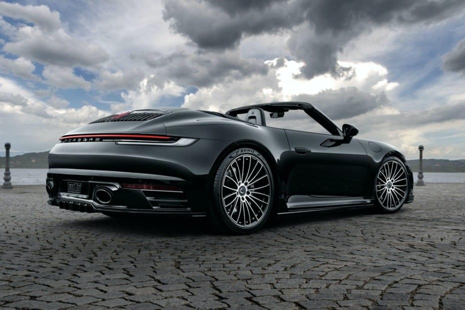Ahora puedes disfrutar del Porsche 911 (992) Cabrio con escape de titanio y 80 CV adicionales