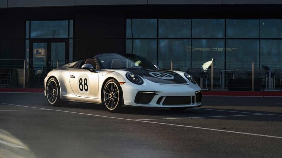 Ya se ha subastado el último Porsche 911 Speedster: Precio desorbitado contra el COVID-19