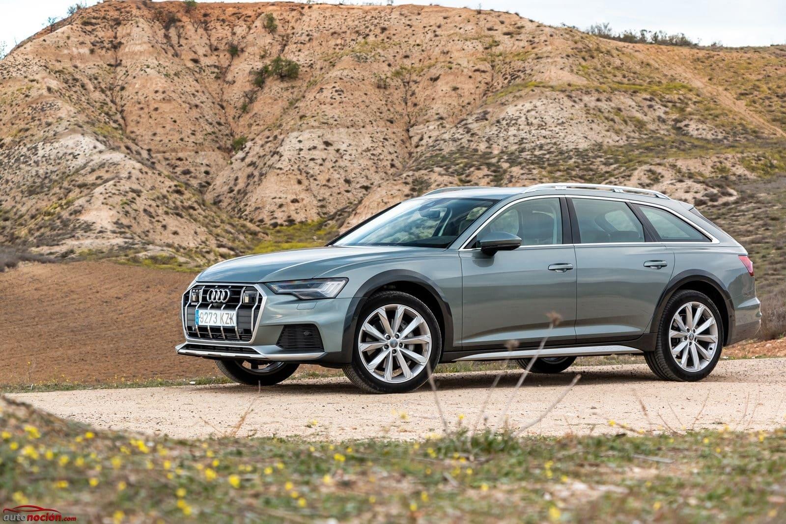 Opinión y prueba Audi A6 allroad quattro diésel 45 TDI 2020