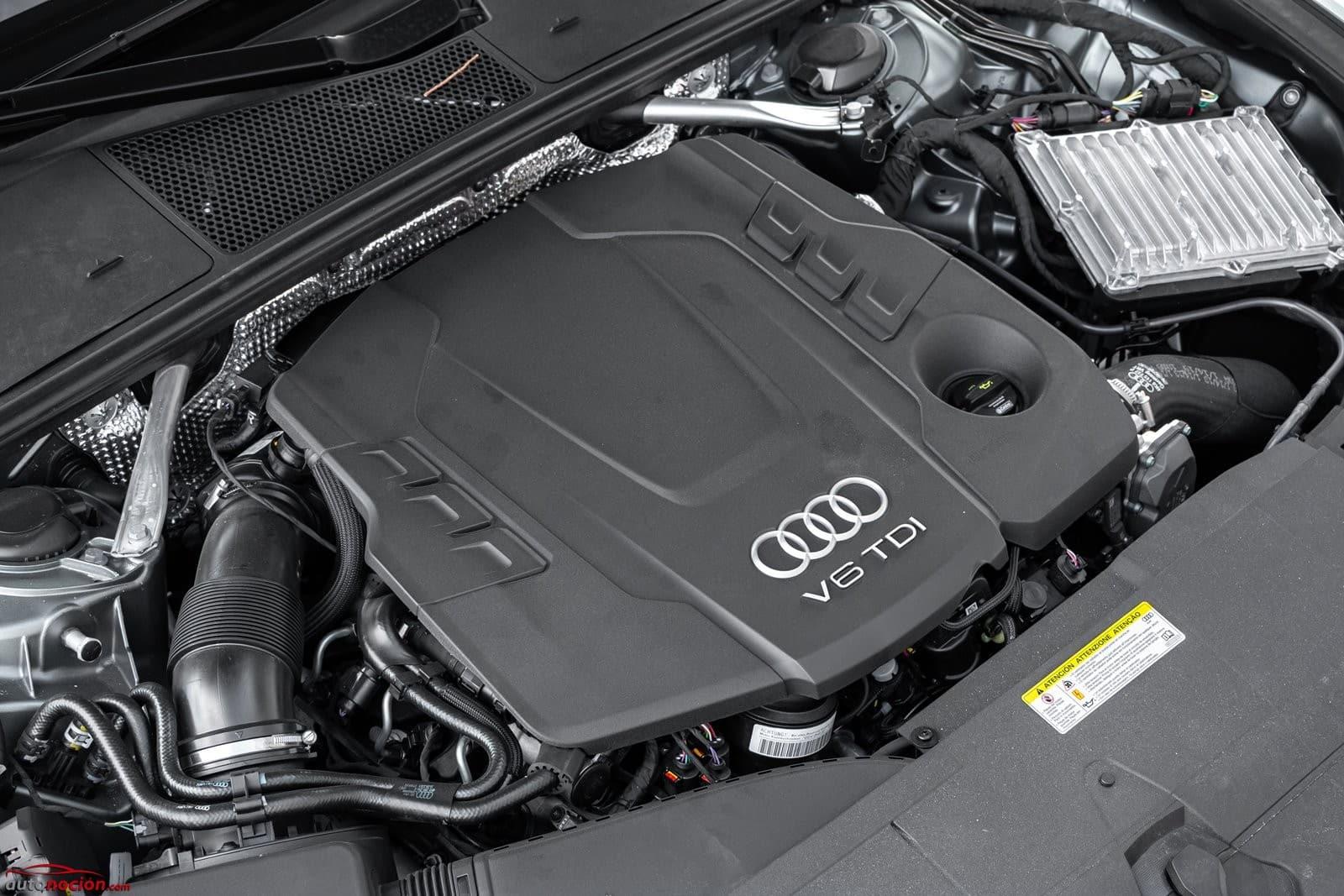 Motor diésel con depósito de adblue