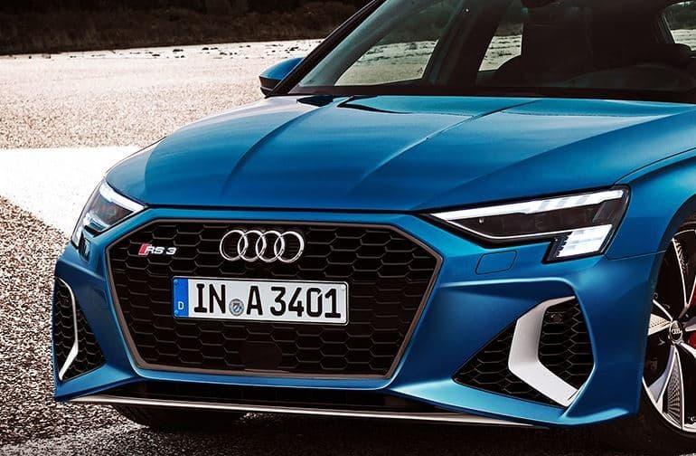 Con estas imágenes ya nos podemos hacer una idea del picante Audi RS 3 Sportback 2020