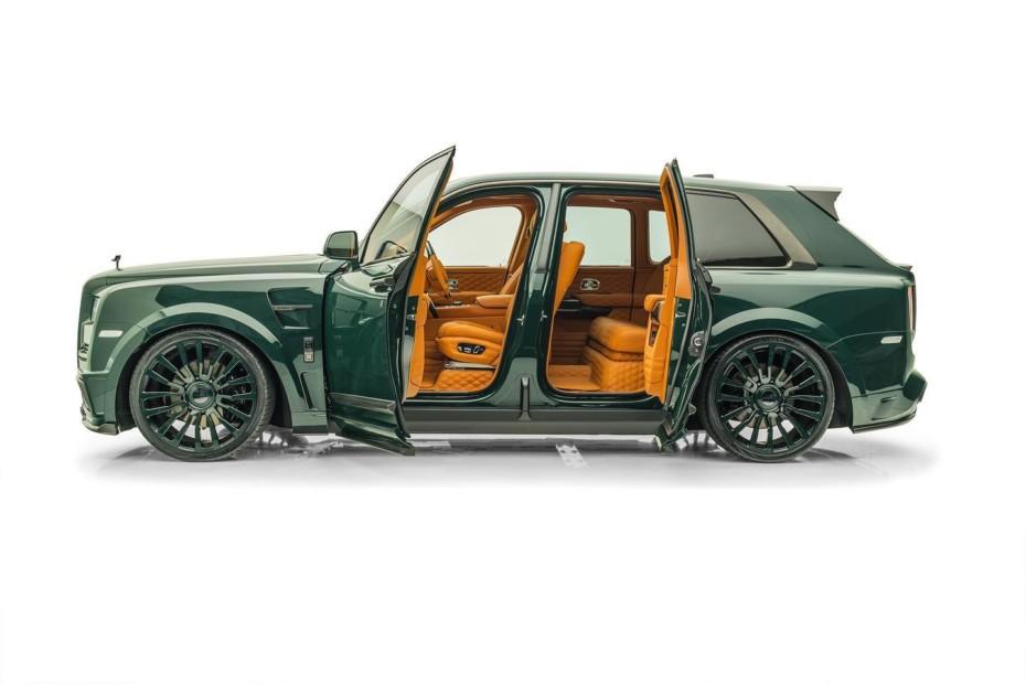 Mansory sigue apostando por el Rolls-Royce Cullinan: A cuál más excéntrico