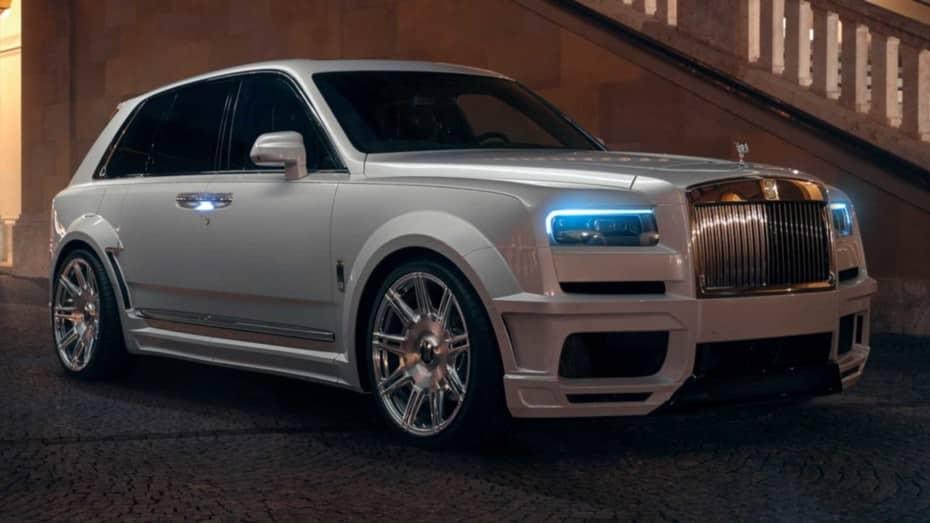 Casi 700 CV y un ensanche a base de fibra de carbono para el lujoso Rolls-Royce Cullinan