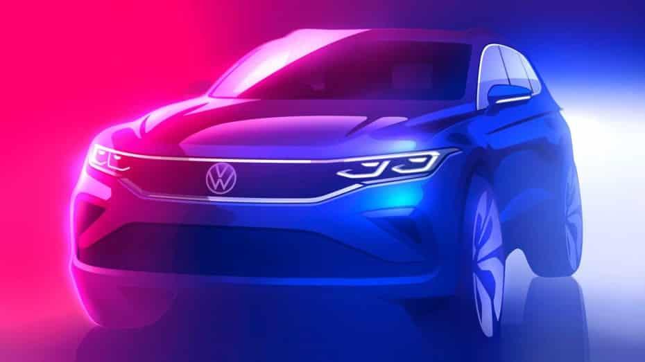 Volkswagen comienza a darnos detalles del inminente lavado de cara del Tiguan
