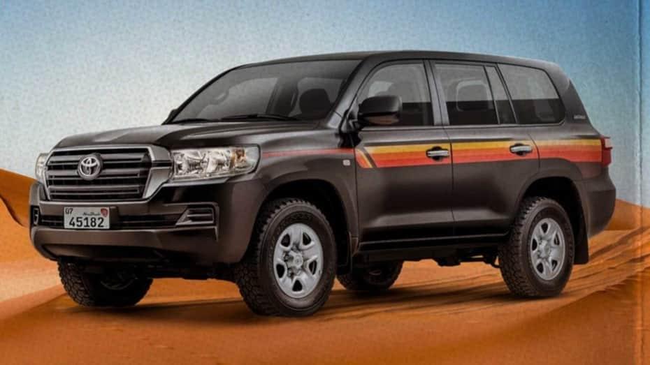 El Toyota Land Cruiser Heritage Edition para los EAU deja a un lado el lujo y se centra en lo esencial