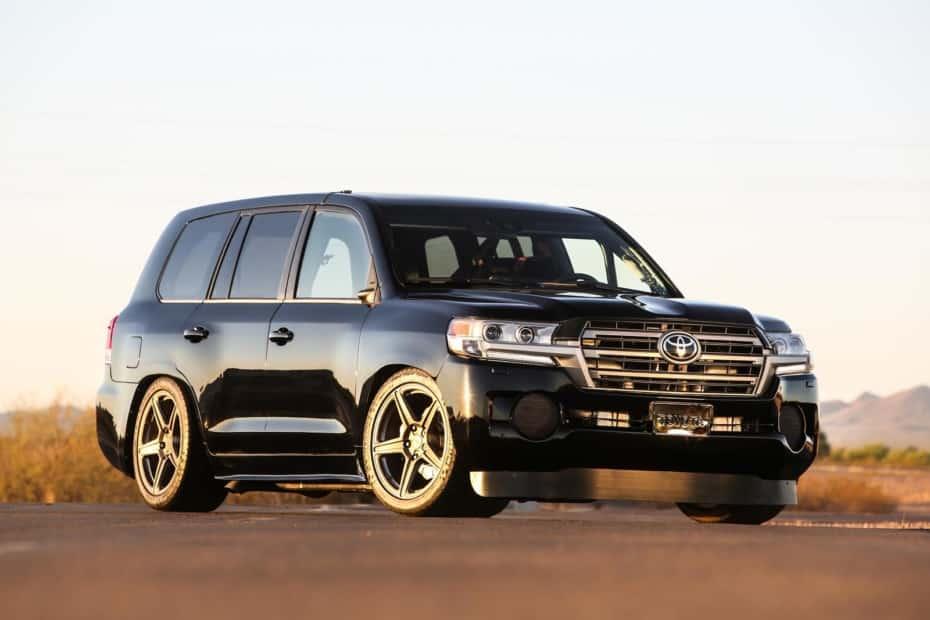 Land Speed Cruiser, ou quando a Toyota criou uma besta V8 de 2.000 hp capaz de rodar 370 km / h