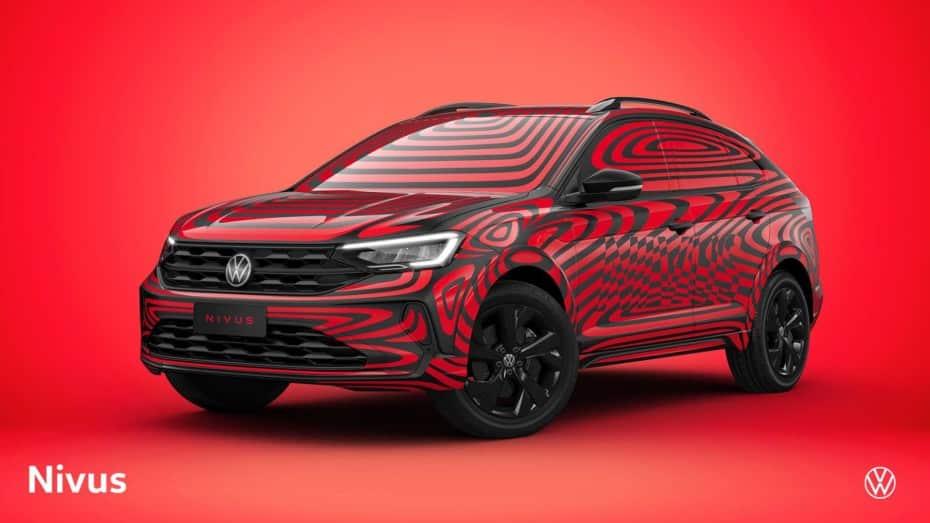 Volkswagen nos vuelve a mostrar el Nivus: Un crossover compacto que veremos el próximo año