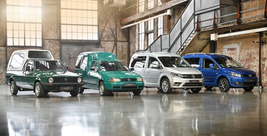 La historia del Volkswagen Caddy: De pick up a comercial y monovolumen de éxito