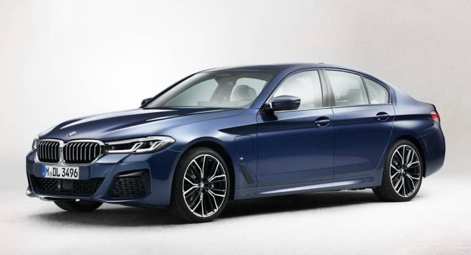 Filtrado el renovado BMW Serie 5