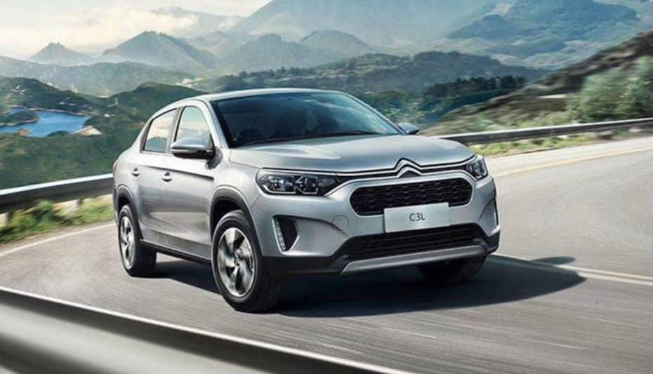 Así es el nuevo Citroën C3 L: La berlina pequeña para China