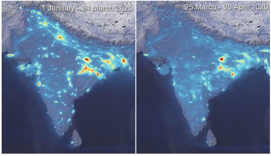 Así ha caído la polución en las urbes más contaminadas del planeta: Desplome en la India