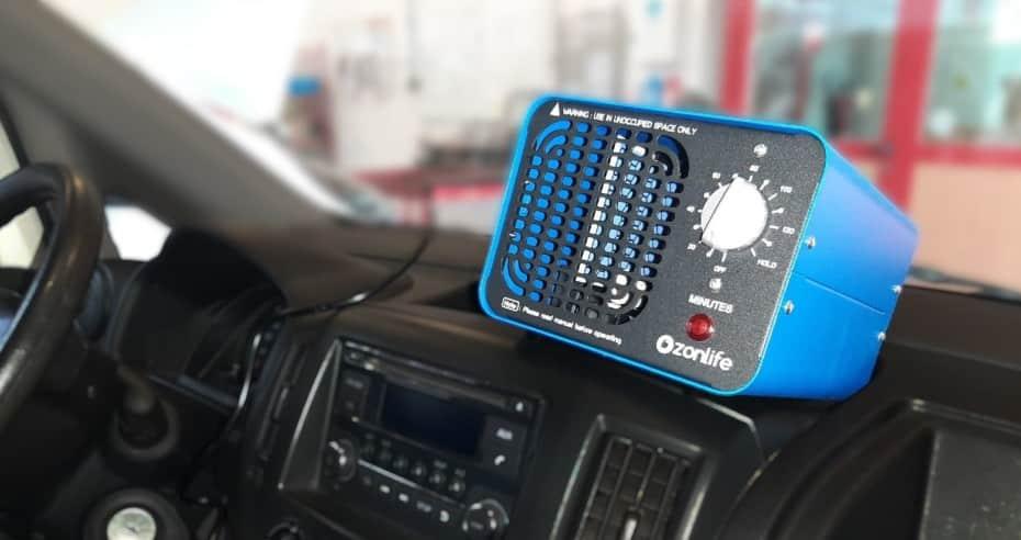 Desinfección con Ozono: ¡Fuera virus, hongos, bacterias y malos olores del coche!
