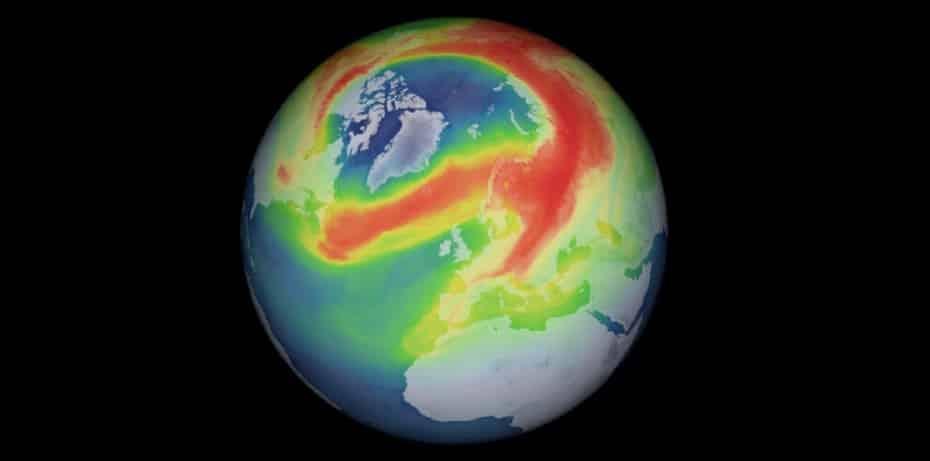 El agujero de la capa de ozono vuelve a la carga y esta vez no es por la acción humana