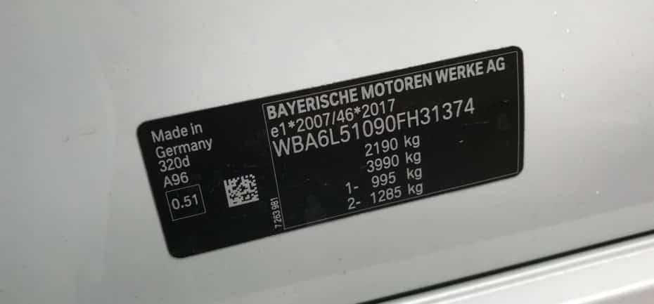 ¿Cómo descifrar el código VIN de tu coche?