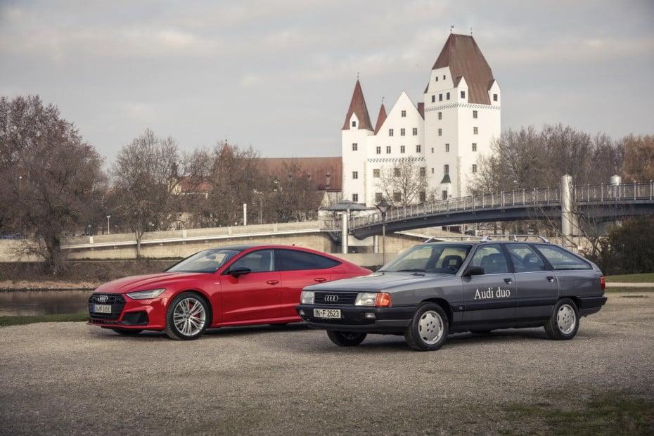Audi 100 Avant quattro Duo: El padre de los híbridos enchufables de Audi tiene más de tres décadas
