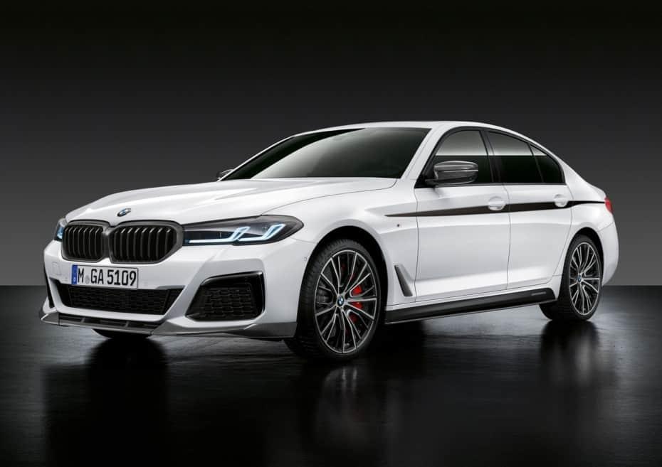 Así le quedan las BMW M Performance Parts al nuevo BMW Serie 5