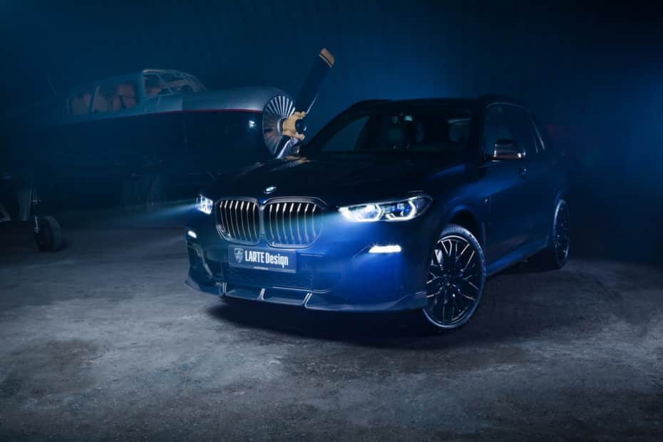 Los BMW X3, X4 y X5 ahora más deportivos y con cierto toque siniestro