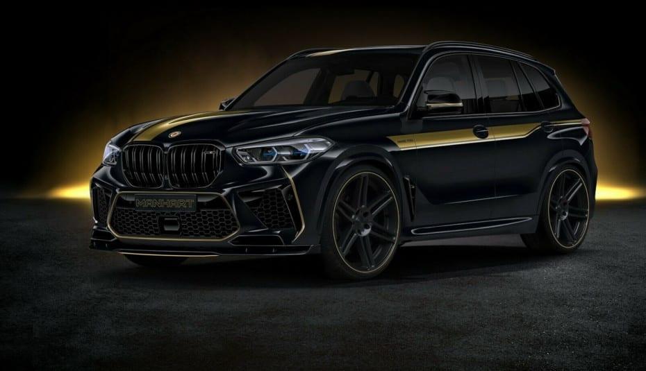 Hasta 723 CV para el BMW X5 M 2020 por cortesía de Manhart: Una bestia dispuesta a arrasar