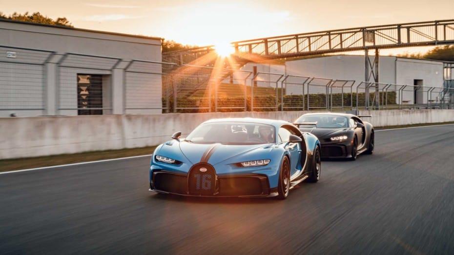 Nuevas imágenes del Bugatti Chiron Pur Sport en su hábitat natural: Un exigente circuito