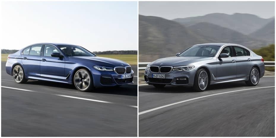 Comparación visual BMW Serie 5 2020: Juzga tú mismo cómo le sientan los cambios a la berlina