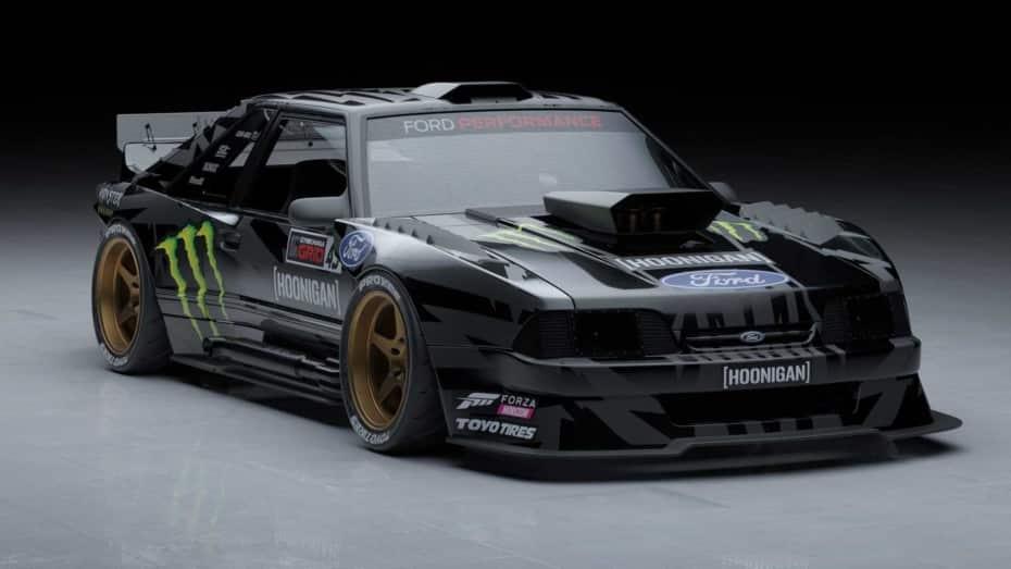 Ken Block nos muestra los detalles del Hoonifox, su nuevo juguete con base de Mustang