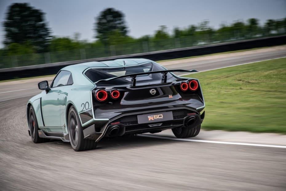 Nuevas imágenes y destalles del Nissan GT-R 50 by Italdesign: El GT-R de los coleccionistas