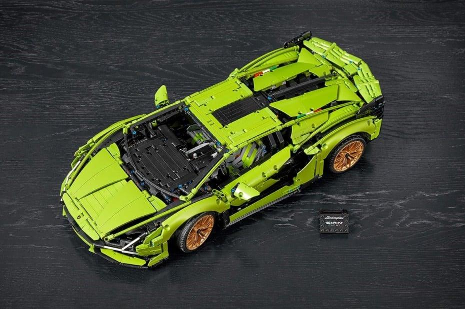 ¿Qué te parece el Lamborghini Sián FKP 37 de LEGO Technic?